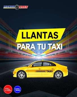 Llantas para taxi