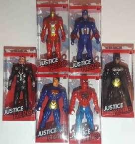 super heroes justicias juguete batman spiderman batman