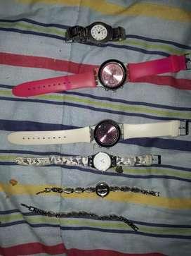 Relojes de todo tipo