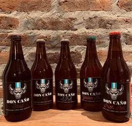 Cerveza Artesanal Don Caño Pack X 3 Bot