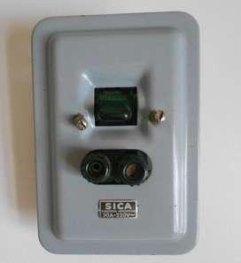 Sica Llave Corte Con Tapones 30a 220v Otros Electricidad