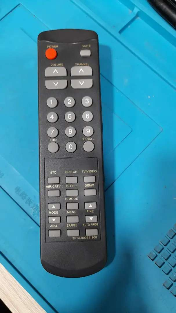 Control remoto para televisor sankey de 14 pulgadas 0