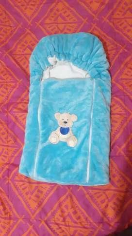 Sleeping para bebé azul