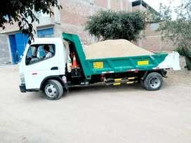 eliminación desmonte y recojo escombro