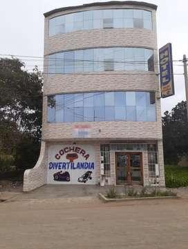 Vendo Hotel 1080 m² - Ideal Para Colegio, Centro de Salud - Huacho