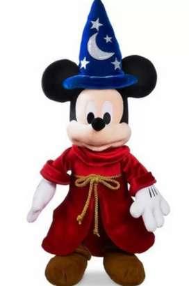 MUÑECO MICKEY MOUSE EL MAGO  ORIGINAL !!  DE WABRO.