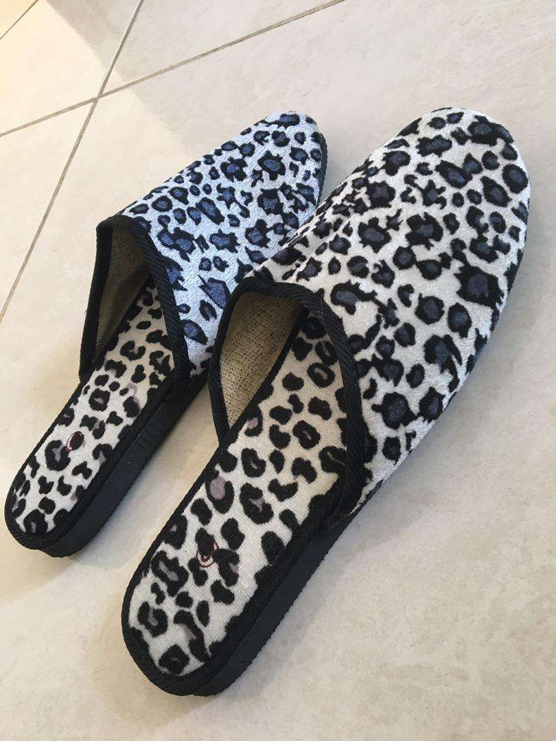 Pantuflas animal print 0