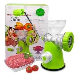Molino manual de carnes y verduras