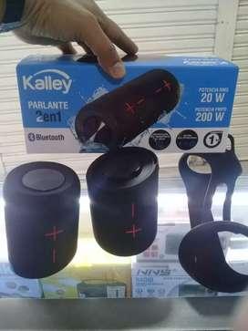 Parlante kalley ipx7 resistente al agua