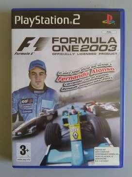 F1 Formula One 2003 Original Sony Playstation2