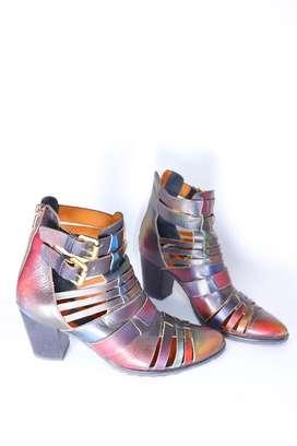 Venta Zapatos diseñador talla 37 cuero