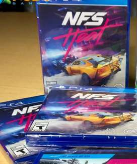 NEED FOR SPEED HEAT PS4 SELLADO STOCK