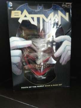 Máscara Y Comic Batman Death Of The Fami