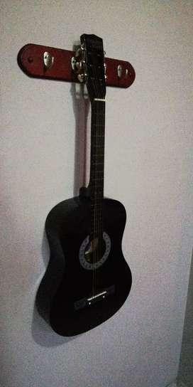 Guitarra nueva garantizada con estuche para principiante