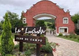 """Venta terreno en """"la Lucinda"""""""