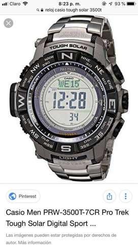 Vendo Reloj Casio Pro