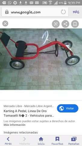 Karting tomaselli para niño