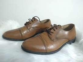 Zapatos café, color 42