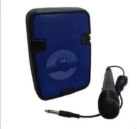 parlante de alta fidelidad bluetooth con microfono