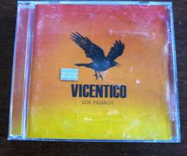 CD Vicentico Los Pájaros Excelente estado!