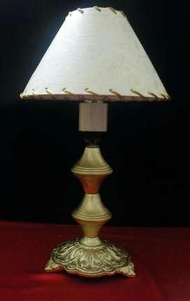Lámpara de Puro Bronce Excelente Estado