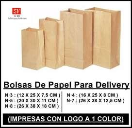 bolsas para delivery impresas con logo