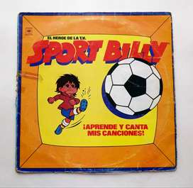 Sport Billy - Capitán Memo, Disco Lp - Vinilo 1981