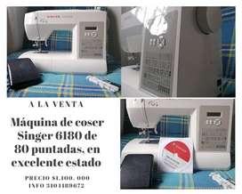 Maquina de coser Singer 6180