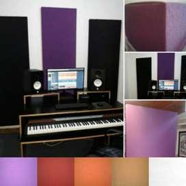 Paneles absorbentes acusticos & decorativos.
