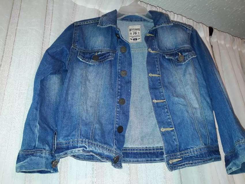 Chaqueta de jeans talla 6 offcors  original.  En excelente estado  . 0