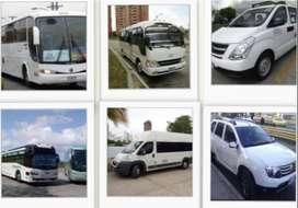 Van, Buseta para Paseos Familiares Viajes
