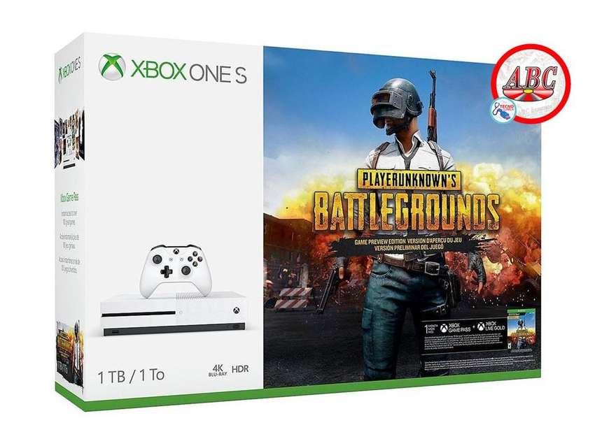 Consola Xbox One S 4k 1tb Battlegrounds  ! Promocion ! 0