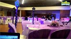 Animación de matrimonios, bodas, cumpleaños, fiestas de 15 años, sonido luces y animacion