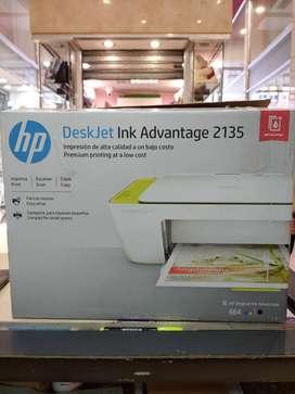 Impresora hp deskjet Ink 2135 NUEVA EN CAJA