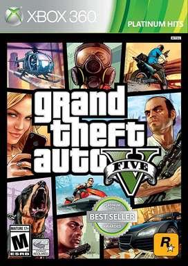 Gta V Xbox 360 Usado