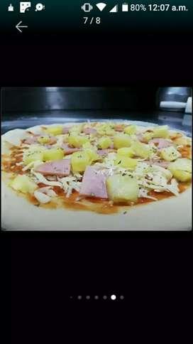 Busco empleo ofrezco mi servicio como cocinero, pizzero u auxiliar de cocina
