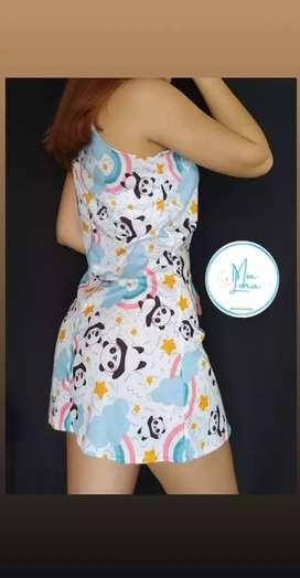 Pijama en vestido