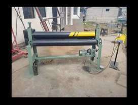 Dobladora. Roladora de tool 4.mm motor excelente maquinaria
