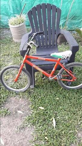Bicicleta rodado 16..muy buen estado