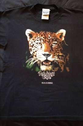 Remera jaguar - 100% algodon - Rainforest Cafe