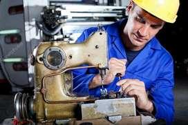 Técnico Y Mecánico de Maquinas de Coser