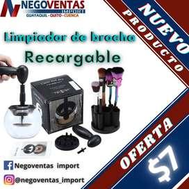 LIMPIADOR DE BROCHAS RECARGABLE