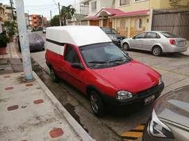 Camioneta Corsa Pick up con caseta Para carga liviana