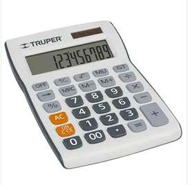 Calculadora 12,15,19cm