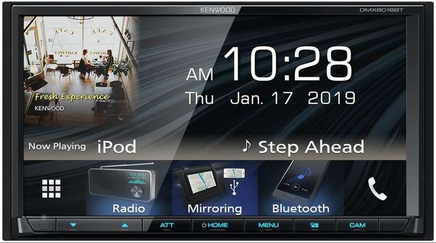 RADIO KENWOOD DMX-6019BT CON MIRRORLINK PARA ANDORID Y IPHONE 0