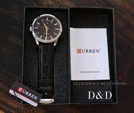 Reloj CURREN ORIGINAL classic black hombre