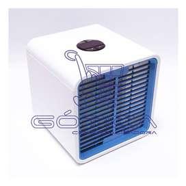 Mini Aire Acondicionado Portatil Air Cooler 7 Colores Led