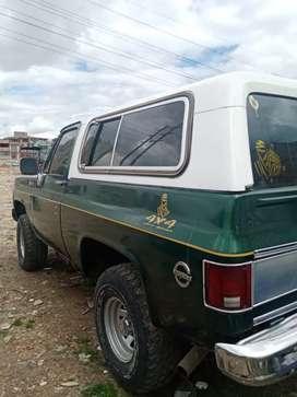 Blazer modelo 1978, gas y gasolina, automatica.
