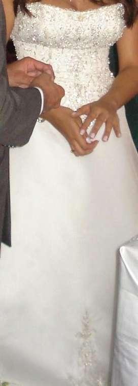 Vendo o Alquilo Hermoso vestido de novia