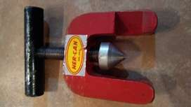 Pestañadora para caños de cobre y aluminio